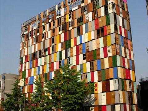 پوشش نمای ساختمان