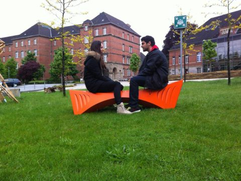 ورق کامپوزیت - ساخت مبلمان شهری