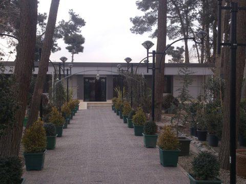 نمای کامپوزیت گلخانه احمدآباد