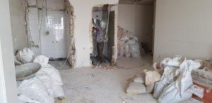 بازسازی واحد اداری ساختمان پروشات.