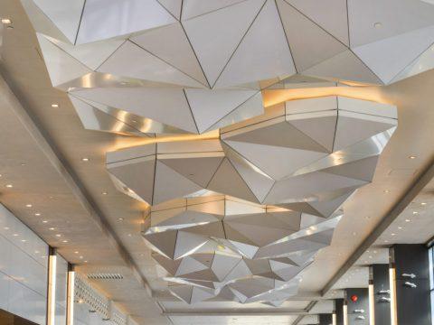 کامپوزیت نمای داخلی ساختمان