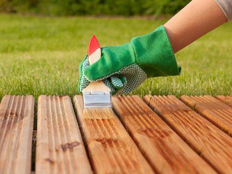 نگهداری نمای ترموود – اصلاح رنگ ترموود