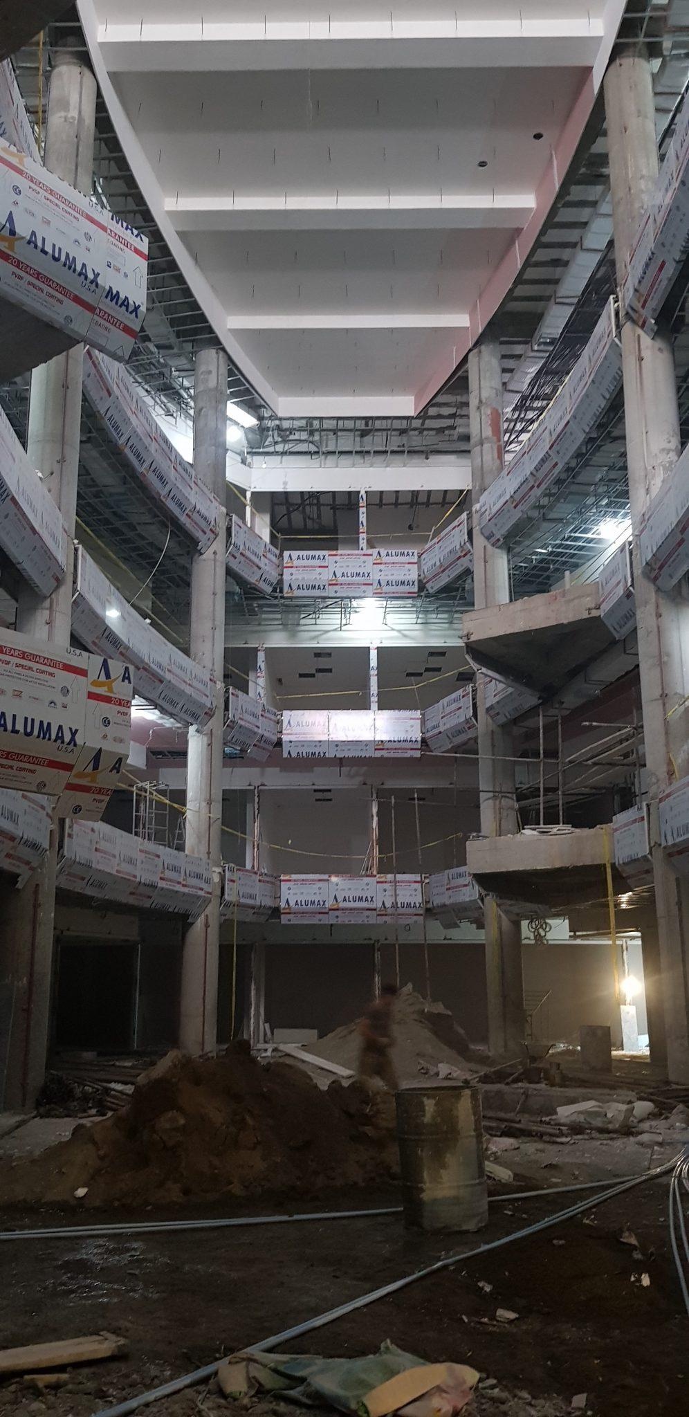 کامپوزیت نما - اتمام پروژه پاساژ تهرانسر