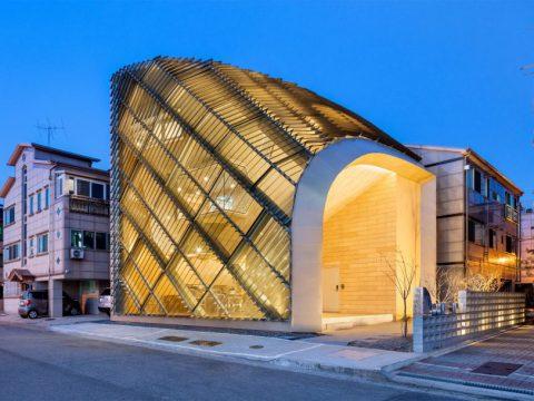 لوور آلومینیومی - نمای ساختمان