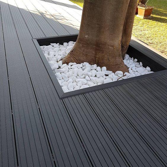 چوب پلاست کف - بالکن و کنار استخر