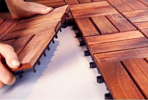 کف چوب پلاست - روش نصب