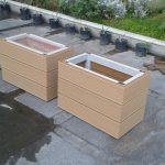 چوب پلاست - فلاورباکس - گلدان