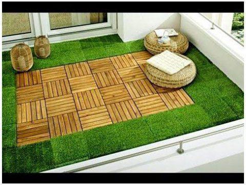 چوب پلاست -پوشش کف بالکن
