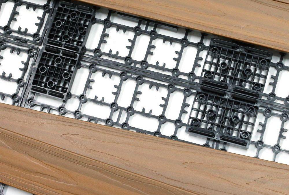چوب پلاست کف - نصب آسان