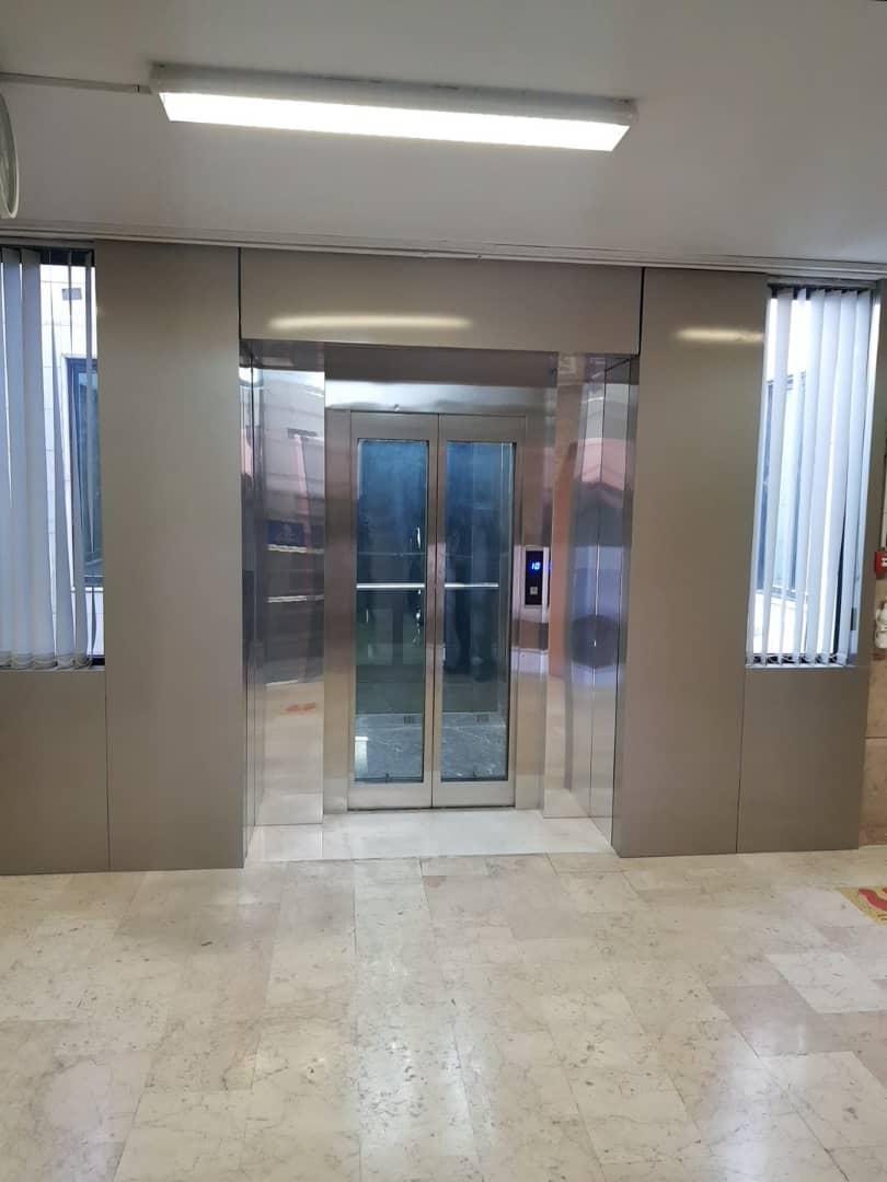 کاور کامپوزیت آسانسور شرکت توسعه نفت
