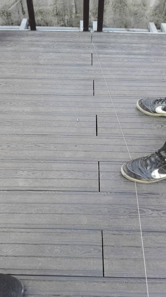 چوب پلاست – درز انقطاع در نصب