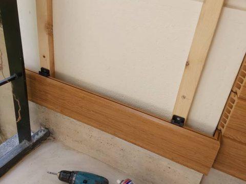 چوب پلاست – نصب بدون زیرسازی فلزی