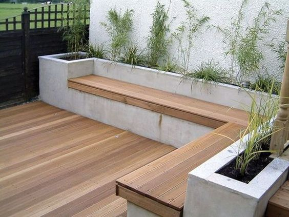 چوب پلاست - چوب ترمووود - مبلمان ویلایی