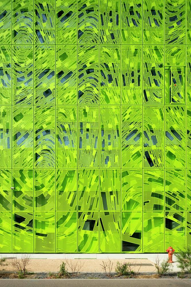 نمای کامپوزیت - نمای دوپوسته - مقر یورونیوز