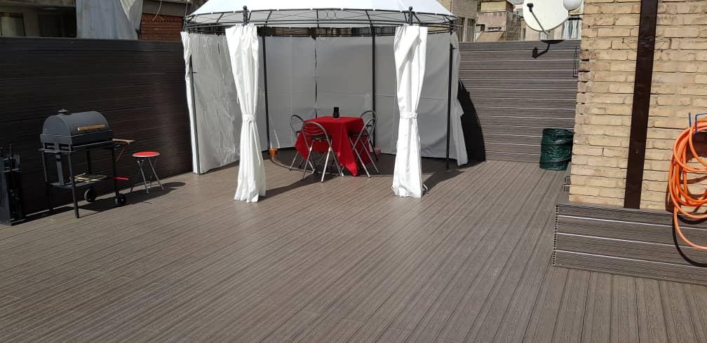 چوب پلاست – روف گاردن – پروژه جمالزاده